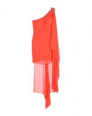Короткое платье MUSANI COUTURE. Цвет: красный