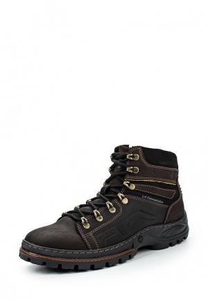 Ботинки трекинговые Calipso. Цвет: коричневый
