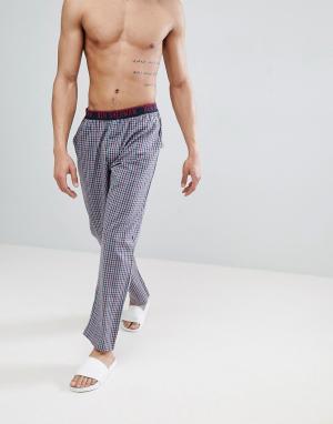 Ben Sherman Подарочный набор с пижамой. Цвет: темно-синий
