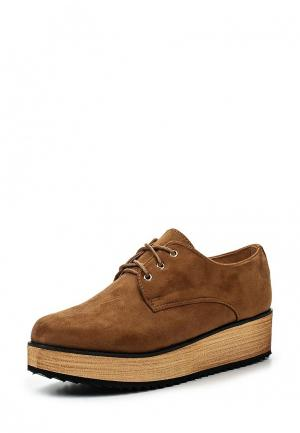 Ботинки BelleWomen. Цвет: коричневый
