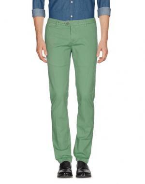 Повседневные брюки TELERIA ZED. Цвет: зеленый