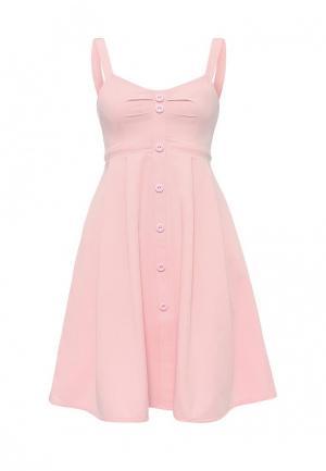 Сарафан C.H.I.C.. Цвет: розовый
