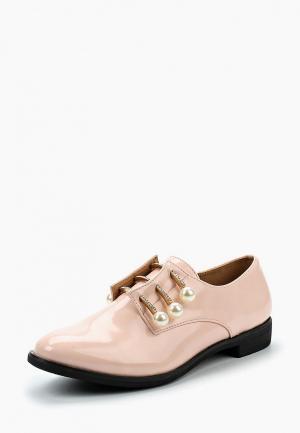 Ботинки Coco Perla. Цвет: розовый