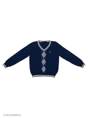 Пуловер Piccolo Angelo. Цвет: темно-синий