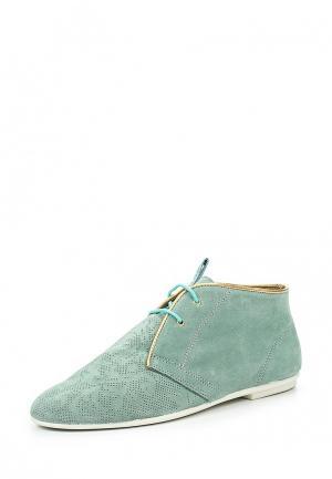 Ботинки Nobrand. Цвет: бирюзовый