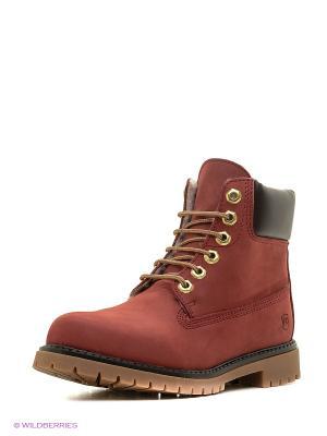 Ботинки Francesco Donni. Цвет: красный