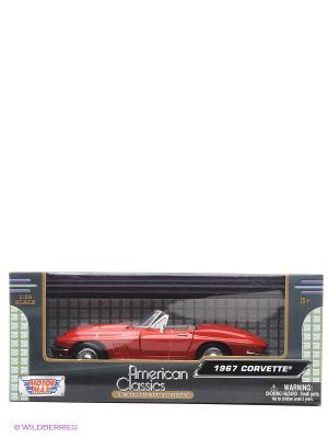 Автомобиль 1967 Corvette Motormax. Цвет: красный