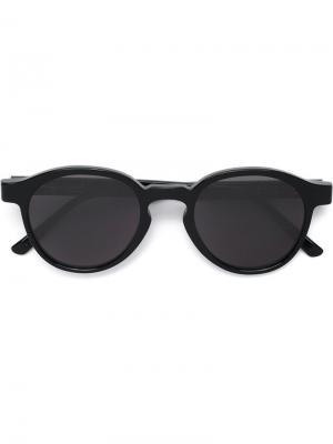 Солнцезащитные очки Seth Iconic Retrosuperfuture. Цвет: чёрный