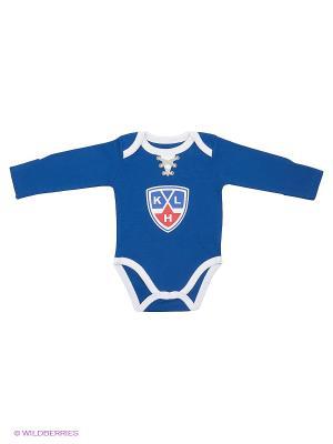 Боди КХЛ Atributika & Club. Цвет: синий