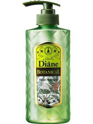 Шампунь для волос Moist Diane Botanical Moist. Природное увлажнение. Series. Цвет: зеленый