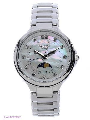 Часы Sheen SHE-3044D-7A CASIO. Цвет: белый