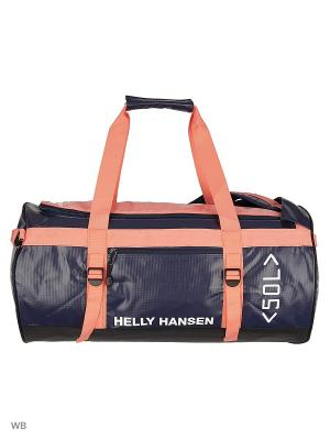 Сумка CLASSIC DUFFEL BAG 50L Helly Hansen. Цвет: синий, розовый