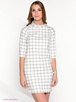 Платье AKIMBO. Цвет: белый, черный