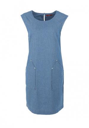 Платье s.Oliver. Цвет: синий