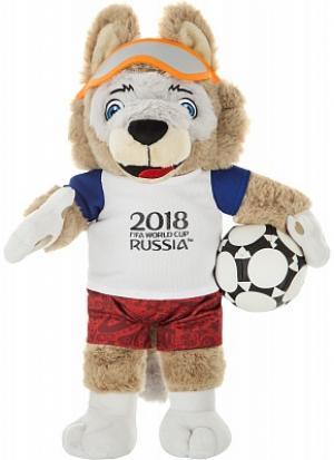 Игрушка Волк Забивака 2018 FIFA World Cup Russia™, 33 см no brand