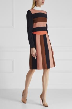 Платье Fendi. Цвет: multicolor