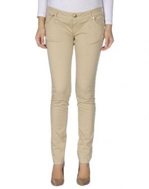 Повседневные брюки CESARE PACIOTTI 4US. Цвет: верблюжий