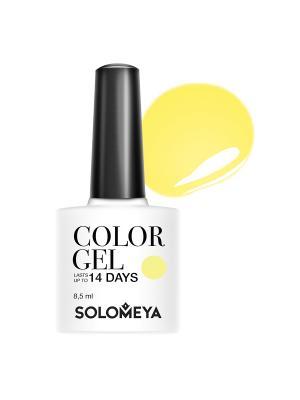 Гель-лак Color Gel Strelitzia SCGY016/Cтрелиция SOLOMEYA. Цвет: желтый