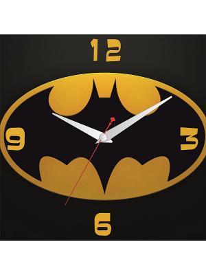 Картина стеновая с часовым механизмом 400*400мм ДСТ. Цвет: желтый, черный