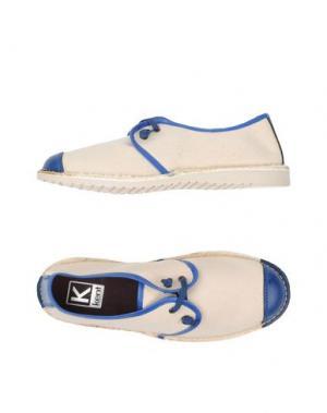 Низкие кеды и кроссовки KENT. Цвет: синий