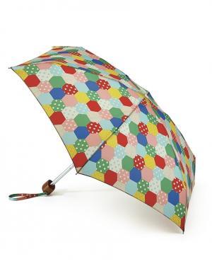 Зонт механический Заплатки  by Fulton Cath Kidston. Цвет: multicolor