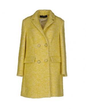 Пальто KRISTINA TI. Цвет: кислотно-зеленый