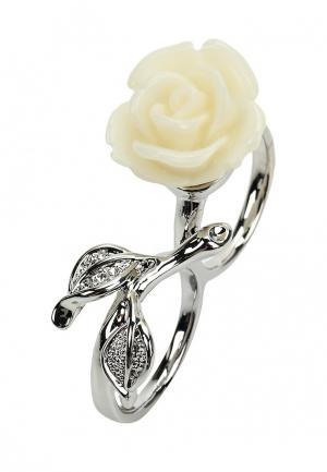 Кольцо Selena. Цвет: белый