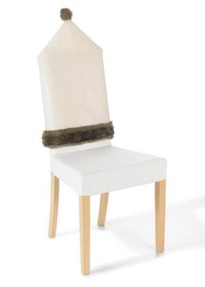 Чехол для стула Осло (4 шт.) (кремовый/светло-коричневый) bonprix. Цвет: кремовый/светло-коричневый