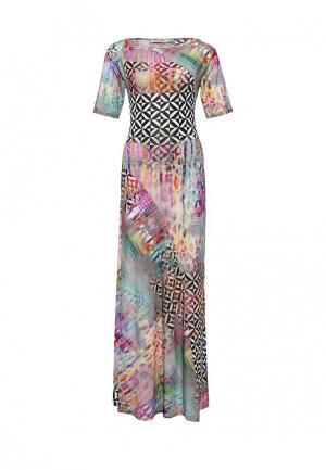 Платье Elena Shipilova. Цвет: разноцветный