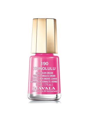 Лак для ногтей тон 190 Honolulu Mavala. Цвет: розовый