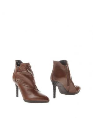 Полусапоги и высокие ботинки ELIANA BUCCI. Цвет: хаки