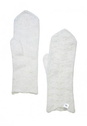 Варежки ОренбургШаль. Цвет: белый