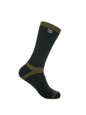 Водонепроницаемые носки DexShell Trekking Green. Цвет: темно-зеленый, черный