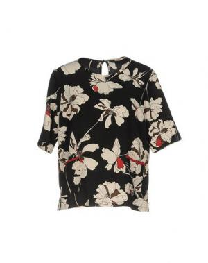 Блузка KARTIKA. Цвет: черный
