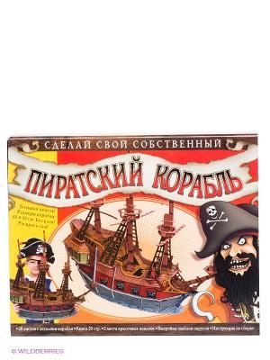 Игровой набор Пиратский корабль Fantastic. Цвет: коричневый