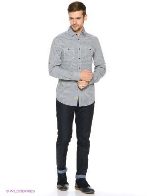 Рубашка Reserved. Цвет: темно-зеленый