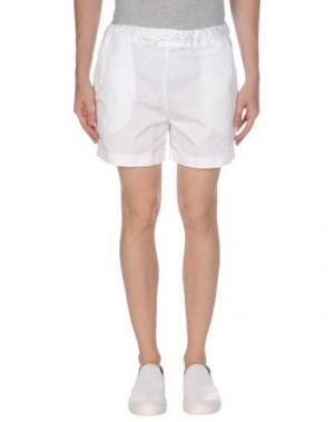 Пляжные брюки и шорты PERFECTION. Цвет: белый