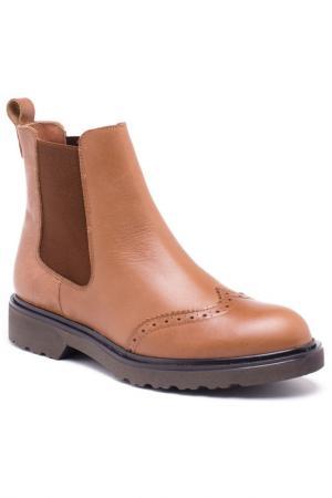 Booties Roobins. Цвет: коричневый