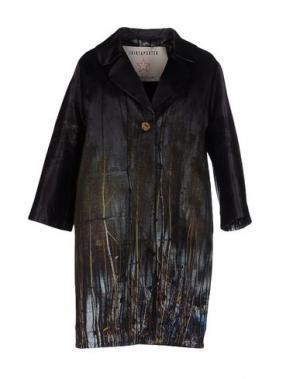 Пальто SHIRTAPORTER. Цвет: свинцово-серый