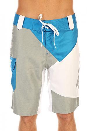 Шорты пляжные  Amon Grey Picture Organic. Цвет: серый,голубой,белый