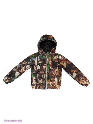 Куртка Disvey. Цвет: темно-коричневый