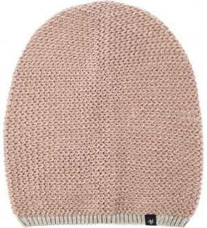 Бежевая шапка мелкой вязки Marc O'Polo. Цвет: бежевый