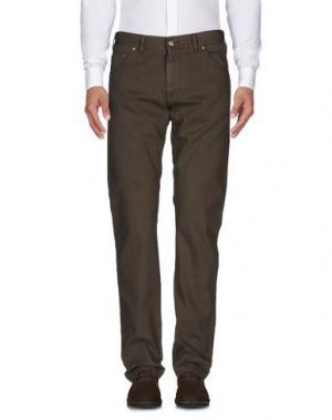 Повседневные брюки ALV ANDARE LONTANO VIAGGIANDO. Цвет: зеленый-милитари