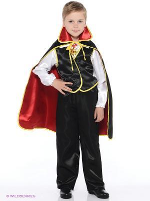 Карнавальный костюм Дракула Батик. Цвет: черный