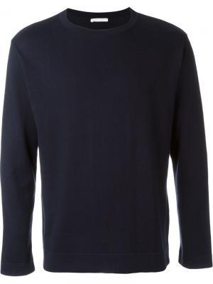 Свитер с круглым вырезом Société Anonyme. Цвет: синий
