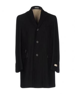 Пальто ANGELO NARDELLI. Цвет: черный