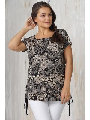 Блузки VAY. Цвет: черный,светло-серый,темно-бежевый
