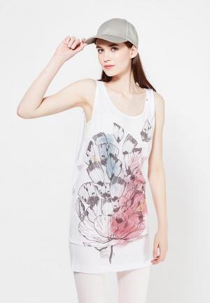 Платье Gas. Цвет: белый