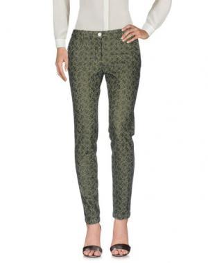 Повседневные брюки SHAFT DELUXE. Цвет: зеленый-милитари