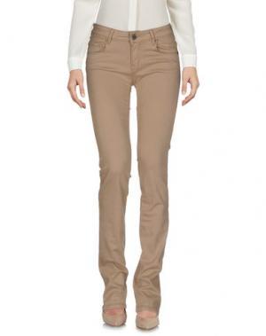 Повседневные брюки CIMARRON. Цвет: бежевый